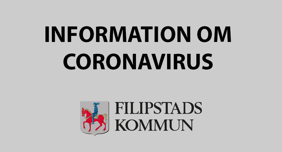 Text: Information och coronavirus